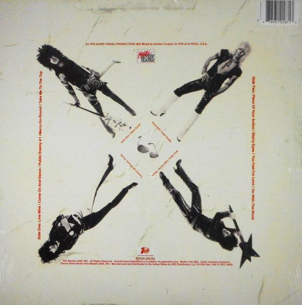 MOTLEY CRUE too fast for love - col vinyl lp