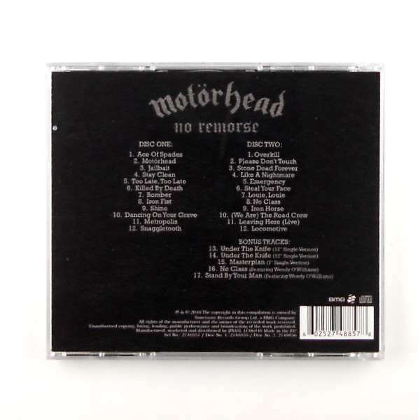 MOTORHEAD no remorse - best of motorhead CD