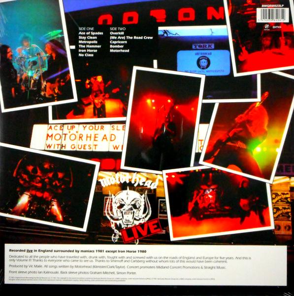 MOTORHEAD no sleep 'til hammersmith LP