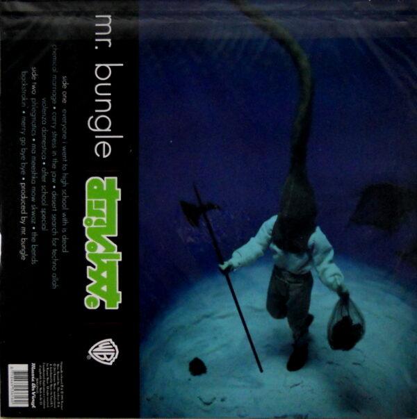 Mr BUNGLE disco volante LP back