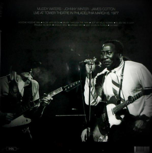 WATERS, MUDDY live in philadelphia 1977 LP