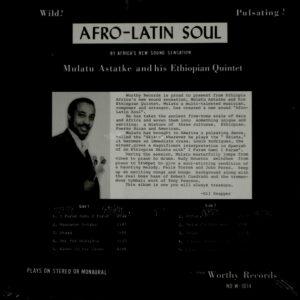 ASTATKE, MULATU afro-latin soul LP