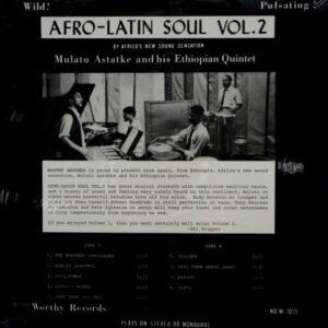 ASTATKE, MULATU afro-latin soul - vol 2 LP