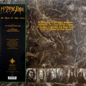 MY DYING BRIDE the thrash of naked limbs 12""