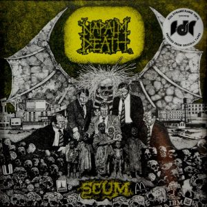 NAPALM DEATH scum LP