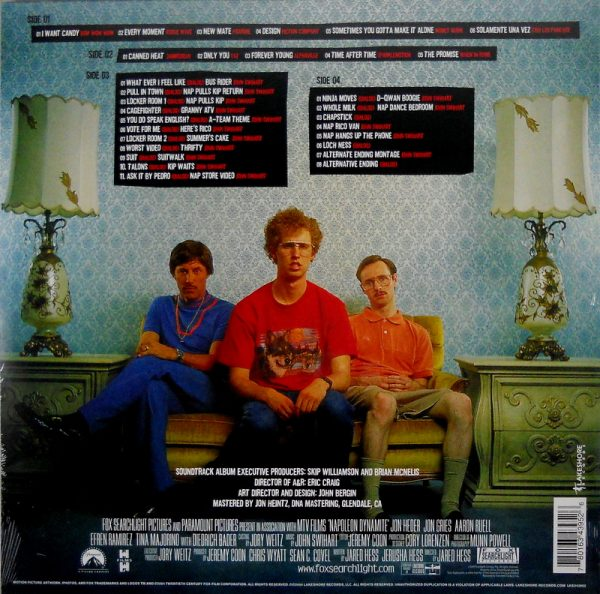 VARIOUS ARTISTS napoleon dynamite LP