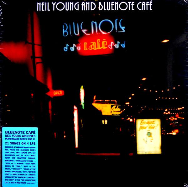 YOUNG, NEIL bluenote café box set LP
