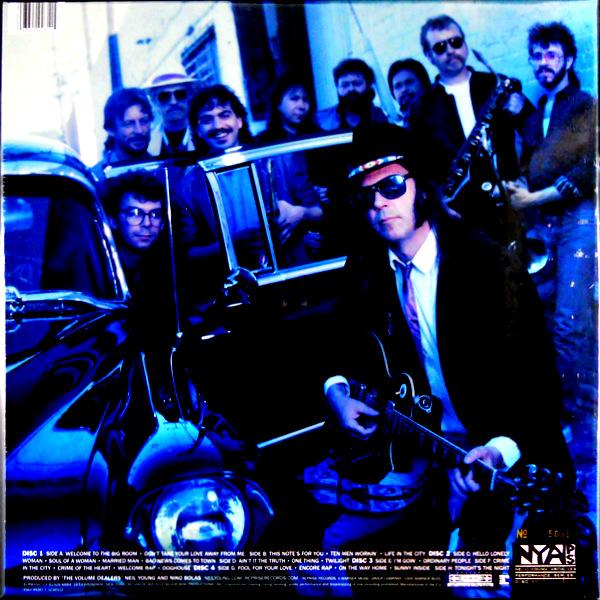 YOUNG, NEIL bluenote café box set LP back