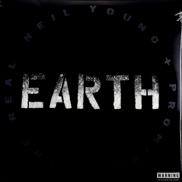 YOUNG, NEIL earth LP