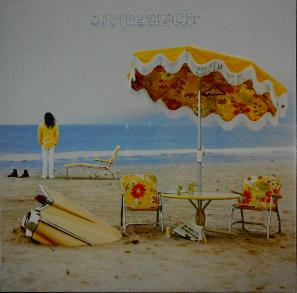 YOUNG, NEIL on the beach LP