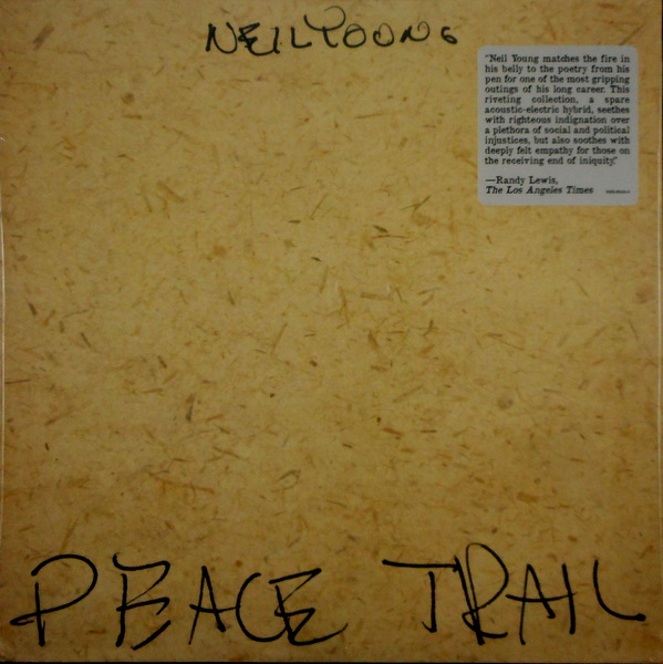YOUNG, NEIL peace trail LP