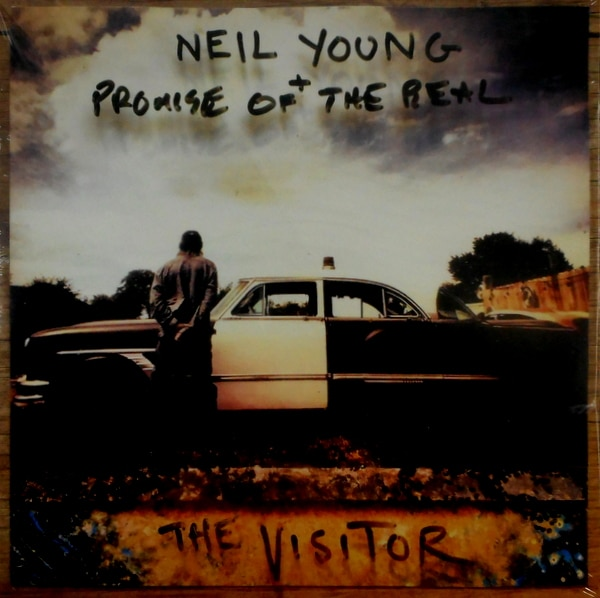 YOUNG, NEIL & PROMISE OF THE REAL the visitor LP