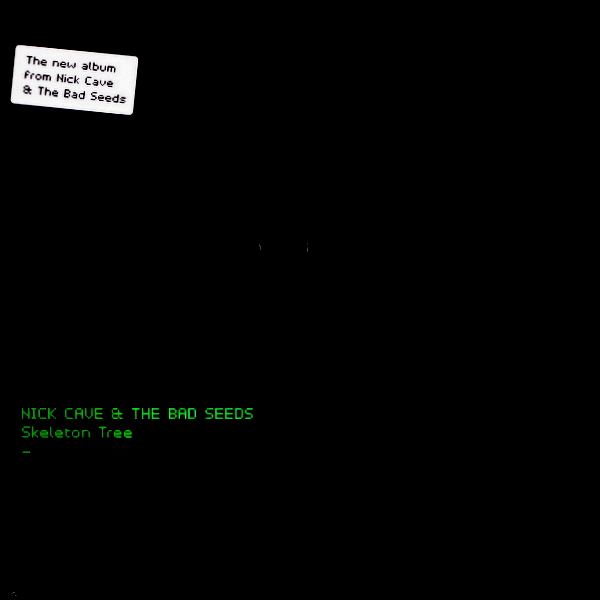 CAVE, NICK & THE BAD SEEDS skeleton tree LP