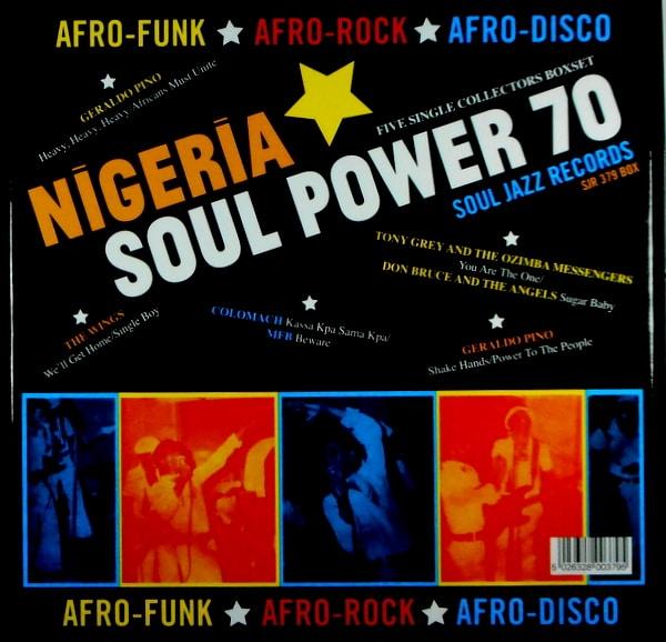 "VARIOUS ARTISTS nigeria soul power '70 7"""