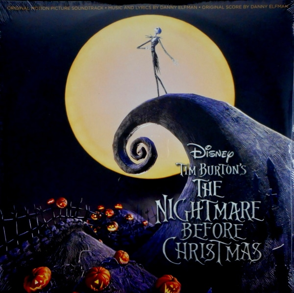 ELFMAN, DANNY the nightmare before christmas - pic disc LP