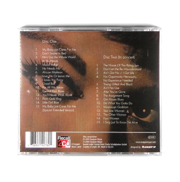 SIMONE, NINA misunderstood CD back