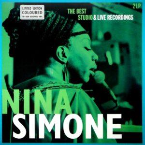 SIMONE, NINA best studio recordings - col vinyl LP