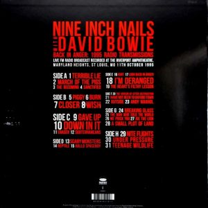 NINE INCH NAILS & DAVID BOWIE back in anger - box set LP