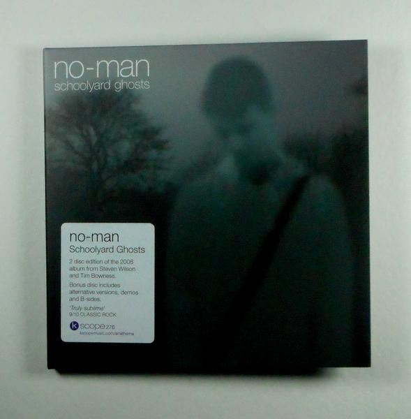 NO-MAN schoolyard ghosts - deluxe CD