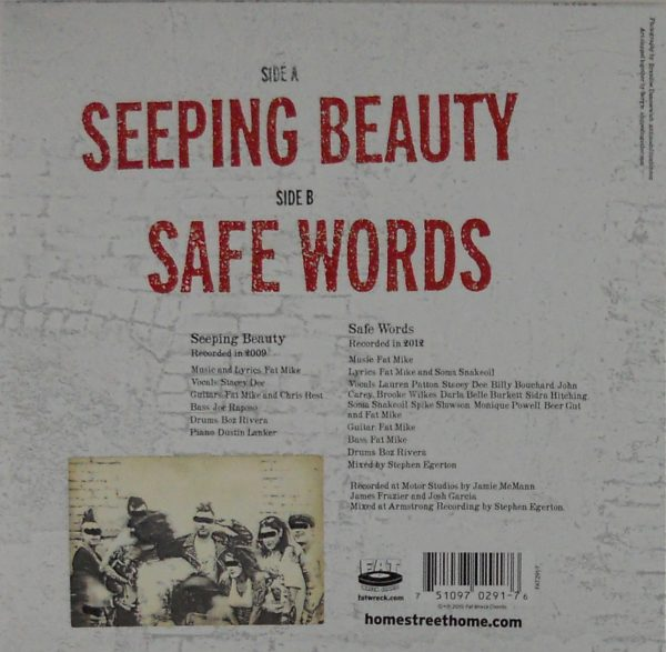 "NOFX & FRIENDS (HOME STREET HOME) sleeping beauty ep 7"""