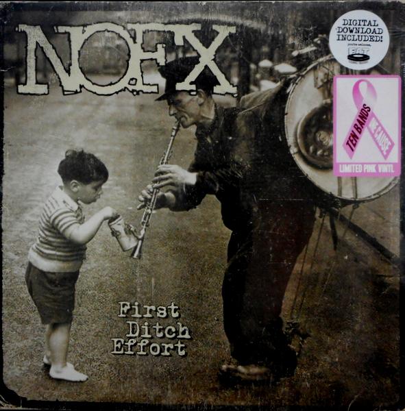NOFX first ditch effort - col vinyl LP