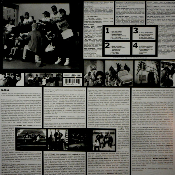 N.W.A. N.W.A. - greatest hits LP