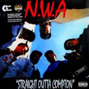 N.W.A. straight outta compton LP