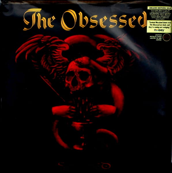 OBSESSED, THE sacred - deluxe gold vinyl LP