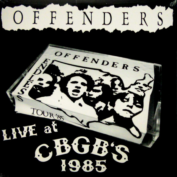 OFFENDERS live at CBGB'S 1985 LP