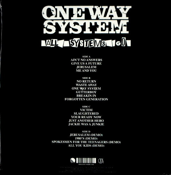 ONE WAY SYSTEM all systems go LP