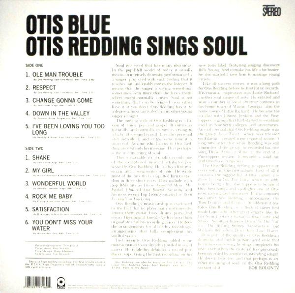 REDDING, OTIS otis blue LP