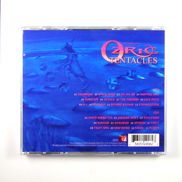 OZRIC TENTACLES introducing ozric tentacles CD back