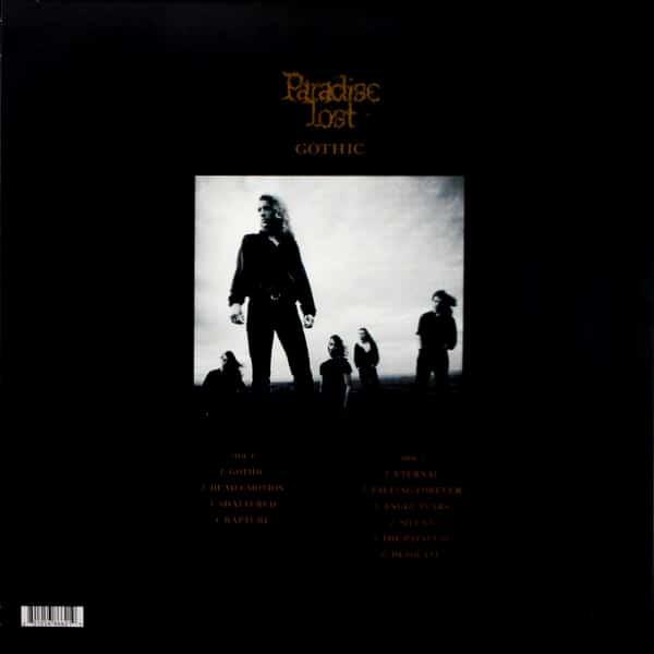 PARADISE LOST gothic - pic disc LP
