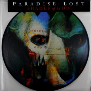 PARADISE LOST shades of god - pic disc LP