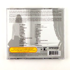 SMITH, PATTI horses - deluxe cd back