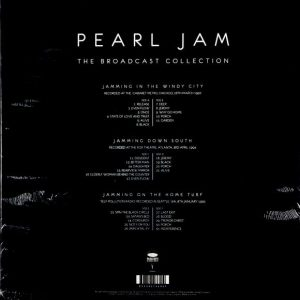 PEARL JAM the broadcast collection - box set LP