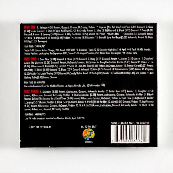 PEARL JAM transmission impossible CD back