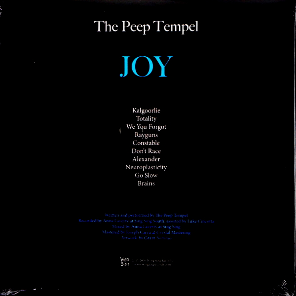 PEEP TEMPEL, THE joy LP