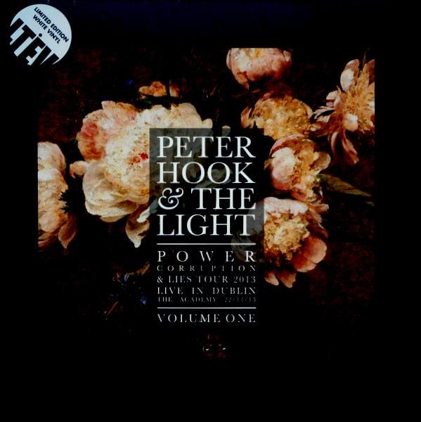 JOY DIVISION (PETER HOOK & THE LIGHT) power corruption & lies live in dublin - vol 1 LP