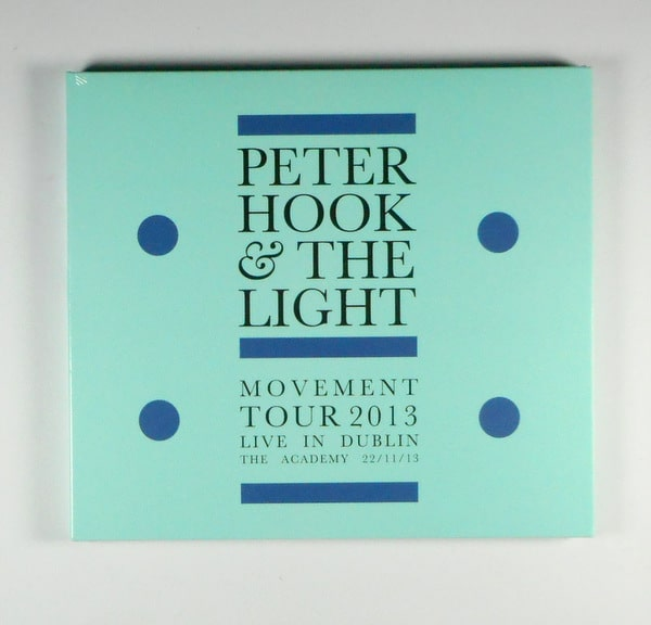 JOY DIVISION (PETER HOOK & THE LIGHT) movement live in dublin CD