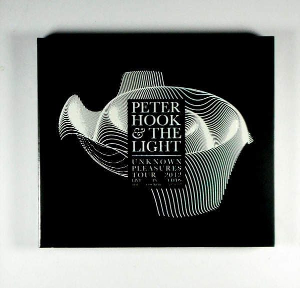 JOY DIVISION (PETER HOOK & THE LIGHT) unknown pleasures live in leeds CD