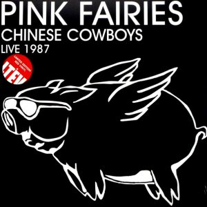 PINK FAIRIES chinese cowboys live 1987 LP