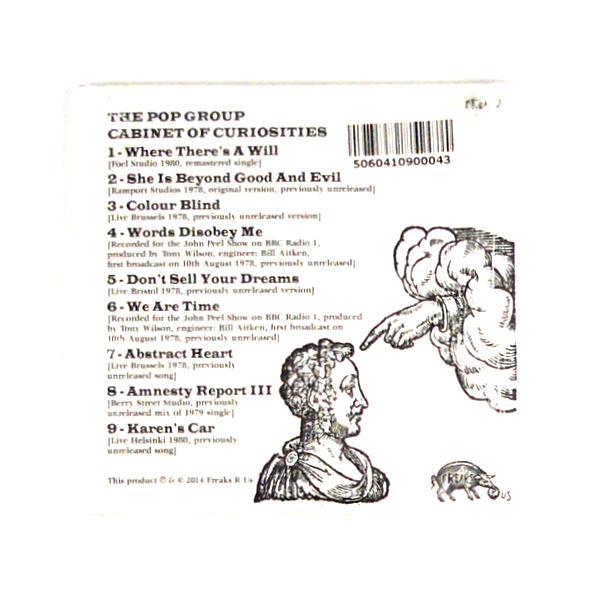 POP GROUP, THE cabinet of curiosities CD back