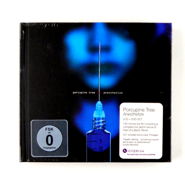 PORCUPINE TREE anesthetize - deluxe cd/dvd