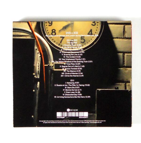 PORCUPINE TREE octane twisted CD back