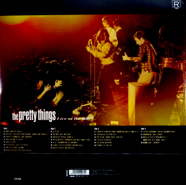 PRETTY THINGS, THE live at the bbc LP