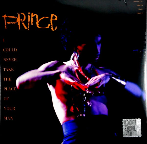 PRINCE I could never take the place of your man 12""