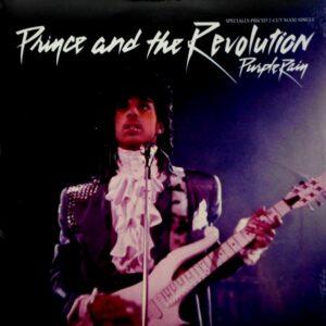 "PRINCE purple rain 12"""