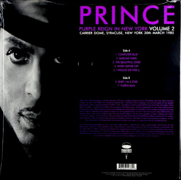 PRINCE purple reign in new york - vol 2 LP