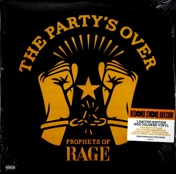 PROPHETS OF RAGE the party's over - col vinyl LP